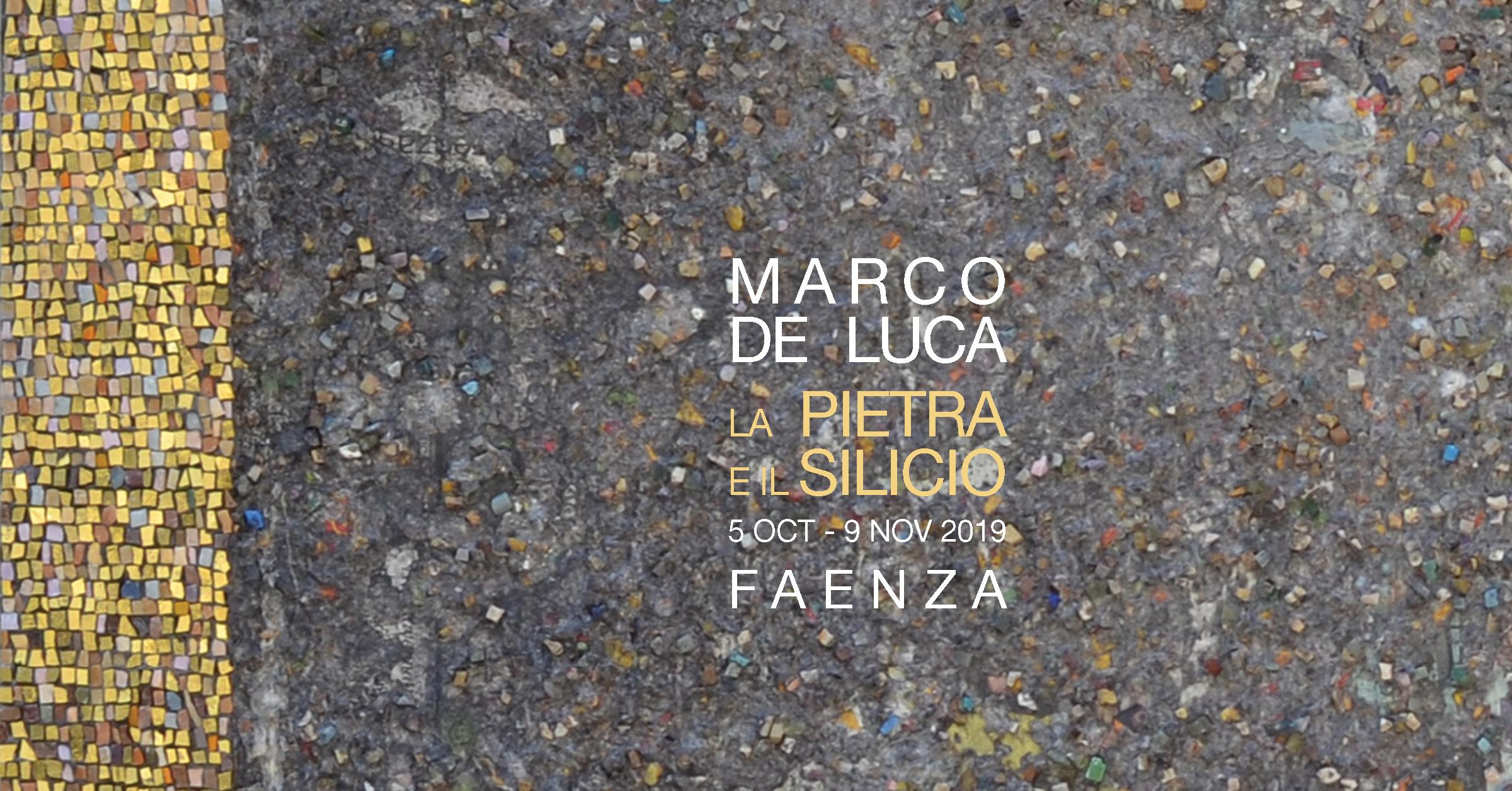 Marco de Luca, La pietra e il silicio