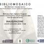 Bibliomosaico Locandina Faenza